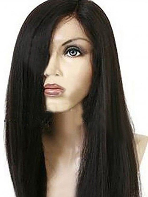 Long Straight Capless 100% Remy Human Hair Wigs
