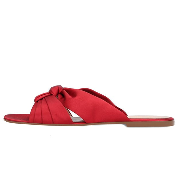 Women's Suede With Bowknot Flats Flip Flops Outdoor/Casual & Shopping Shoes