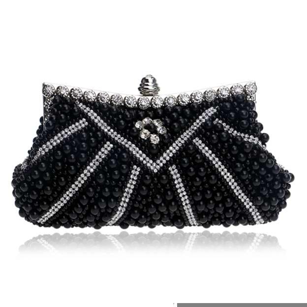 Romantic Rhinestone/Imitation Pearls Clutches