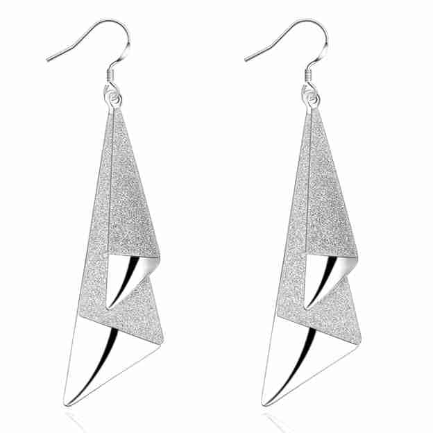 Women's Unique Silver Earrings