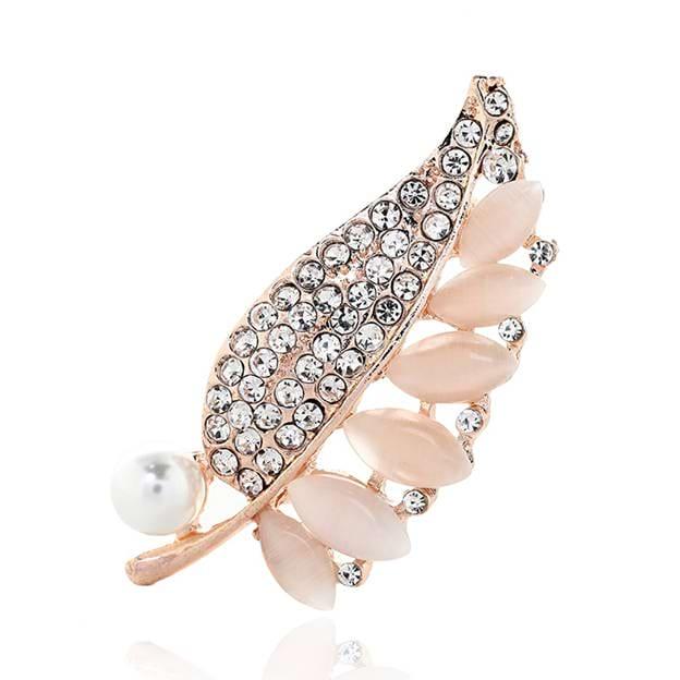 Women's Elegant Alloy Brooches Jewelry Imitation Pearls/Rhinestone