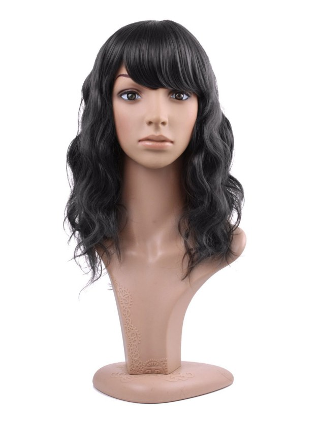 Medium Wavy Capless High Quality Heat Resistant Synthetic Wigs