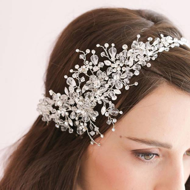 Crystal Ladies Headbands With Rhinestone