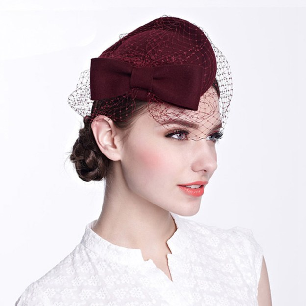 Wool Ladies Fascinators