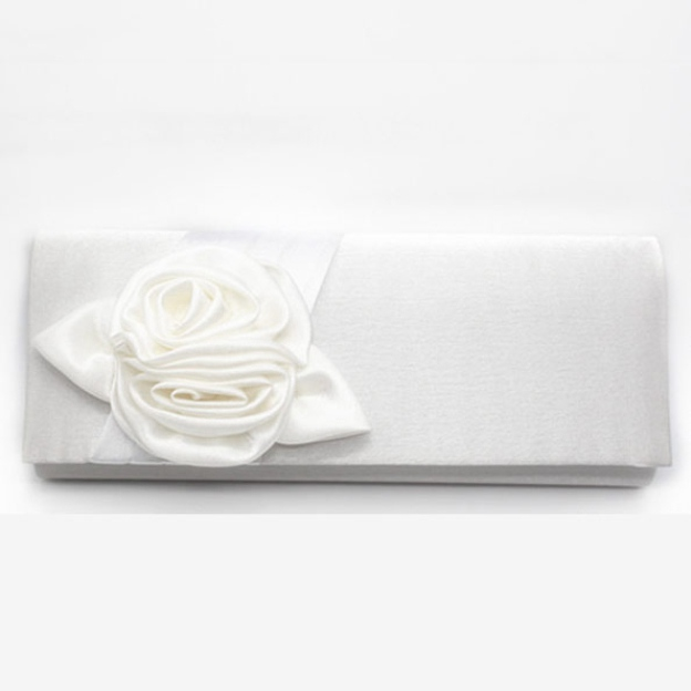 Silk Detachable Wallets & Accessories With Flower