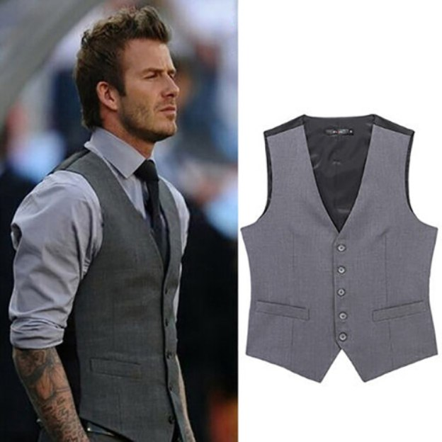 Men'S Cotton Engagement Special Occasion Wedding Men'S Waistcoat