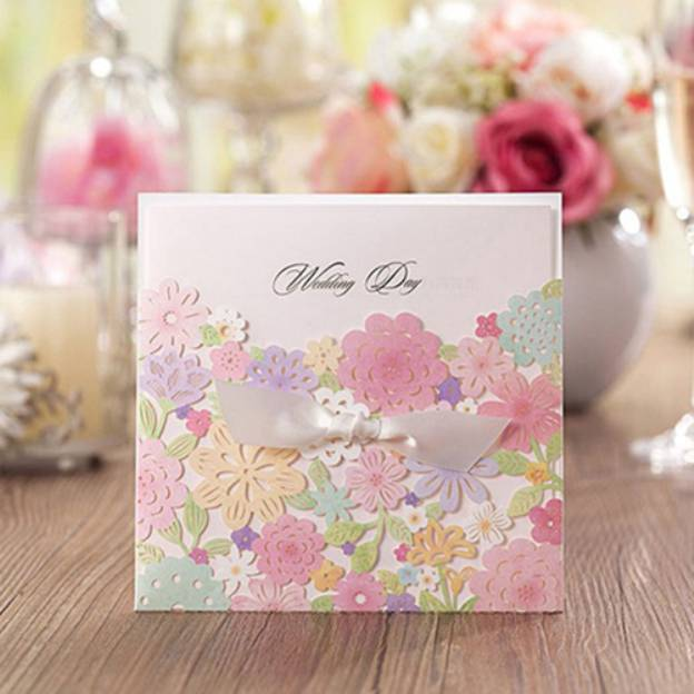 As Picture Art Paper Invitation Cards 30 Piece/Set