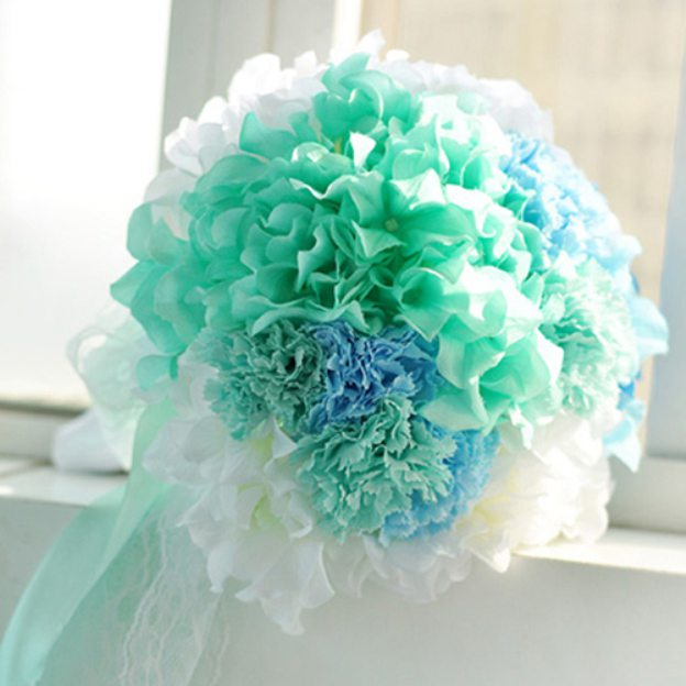 Round Fabric Others Bouquets