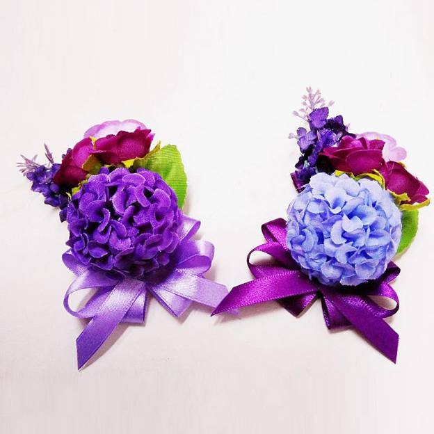 Round Fabric Others Corsages