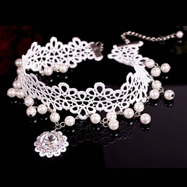 Basketwork Irregular Pierced Jewelry Sets With Imitation Pearls