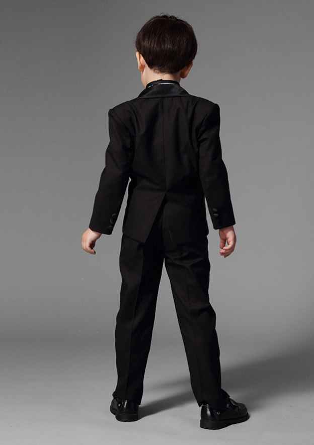 Satin As Picture Ring Bearer Suits