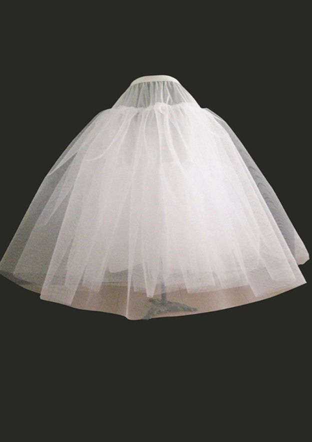 Ball Gown 4 Layers Short/Mini Tulle Bridal Petticoats
