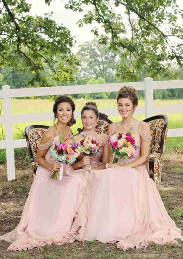 A-Line/Princess Sweetheart Sleeveless Sweep Train Chiffon Bridesmaid Dresses With Waistband Beading Pleated