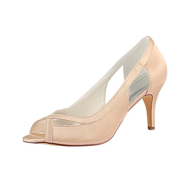 Sandals Stiletto Heel Satin Wedding Shoes
