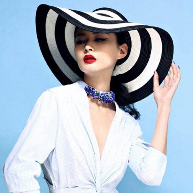 Ladies' Eye-catching/Pretty Rattan Straw Straw Hats/Beach/Sun Hats