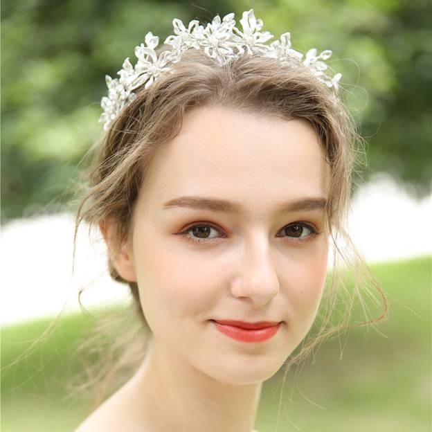 Ladies Glamourous/Shining Alloy/Imitation Pearls With Flower/Rhinestone/Crystal Headbands (Sold in single piece)