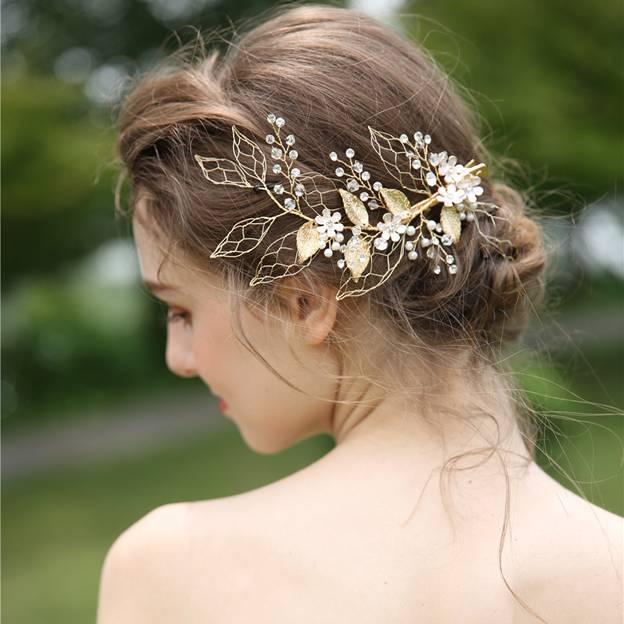 Ladies Beautiful/Elegant Alloy/Crystal/Imitation Pearls/Rhinestone With Flower Hairpins