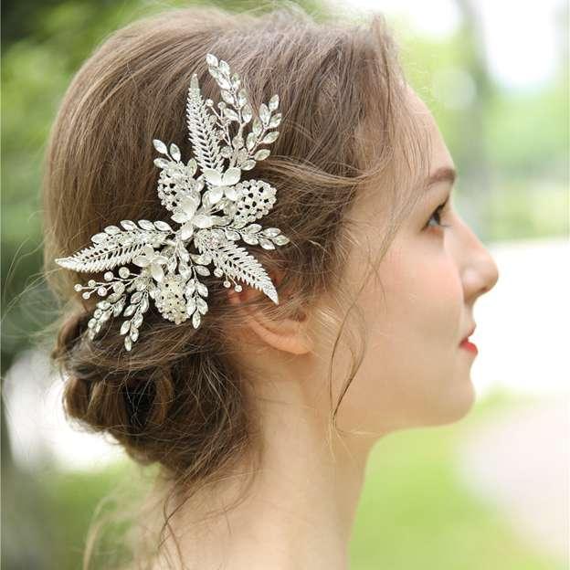Ladies Beautiful/Shining Alloy/Beads/Rhinestone Hairpins