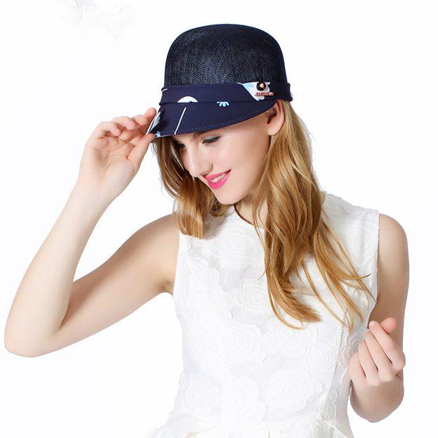 Ladies' Simple/Nice Linen Chiffon Baseball Caps/Beach/Sun Hats