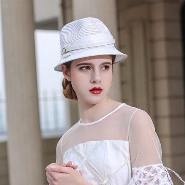 Ladies' Simple/Nice Papyrus Bucket Hats Straw Hats
