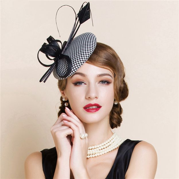 Ladies' Glamourous/Elegant Cambric Fascinators/Tea Party Hats