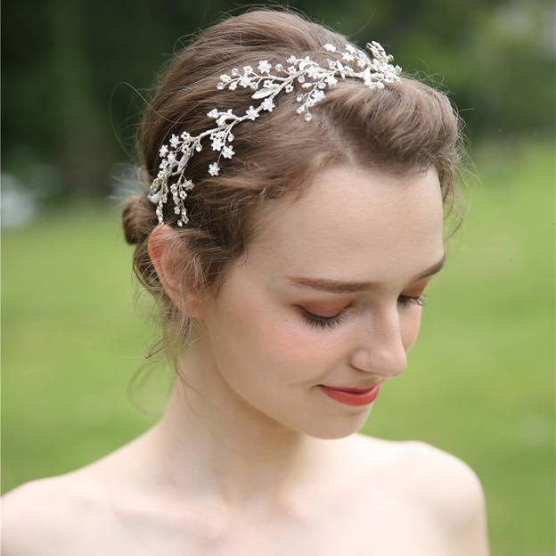 Ladies Elegant/Shining Alloy With Beads/Rhinestone Headbands