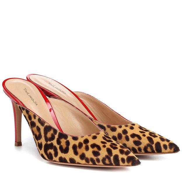 Women's Velvet Close Toe Heels SlingBacks Fashion Shoes