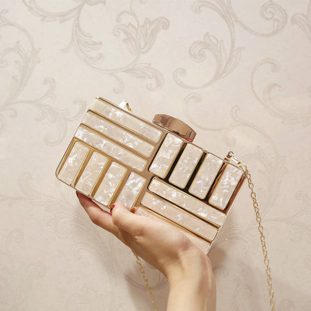 Artistic Acrylic/Alloy Clutches/Evening Bags