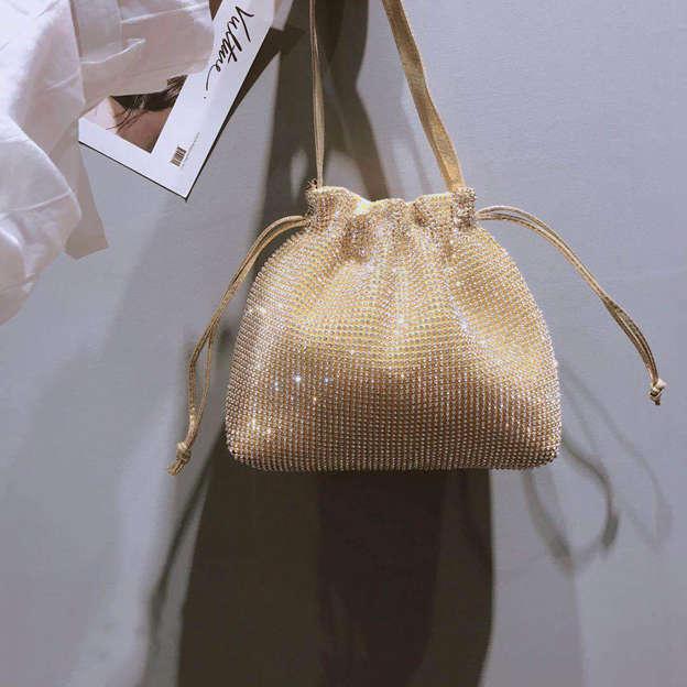 Shining Rhinestone Shoulder Bags/Evening Bags