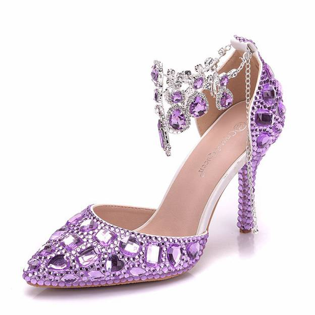 Women's PU With Rhinestone Sandals Fashion Shoes
